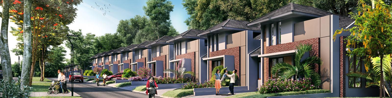 Citra Sentul Raya Harga Rumah 1 Lantai 649 Juta